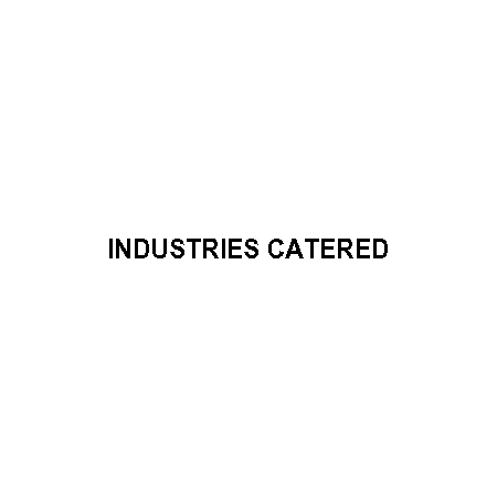Industries Catered