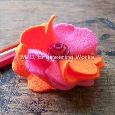 Cloth Flower Cutting Machine