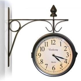 Railway Station Wall Clock