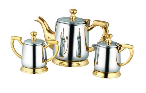Brass Kettle Set