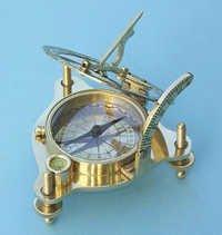 Premium Brass Sundial Compass