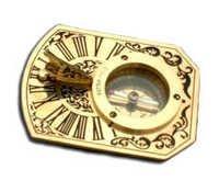 Butterfield Sundial Compass
