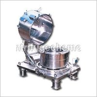 Bottom Discharge Steel Centrifuge Machine