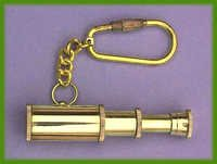 3-Pipe Telescope Key Chain