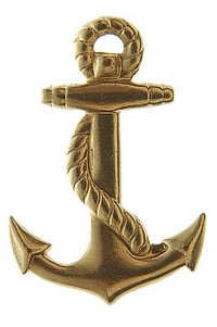 Brass Ships Anchor Nautical Charms