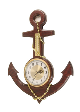 Nautical Anchors with Clock