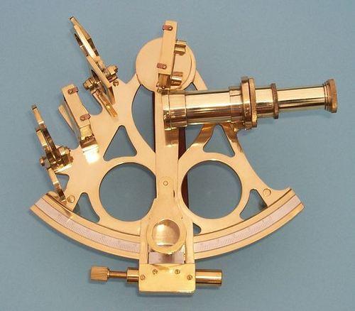 Brass Sextant