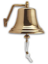 8 Inch Brass Ship's Bell