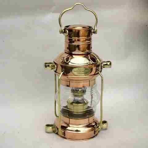 Ship's Anchor Lantern