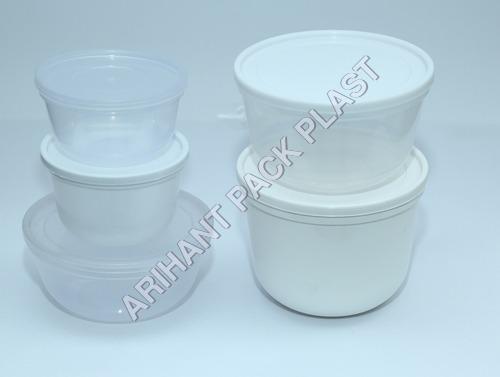 Bowl Type Plastic Container