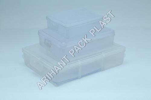 Square Plastic Boxes