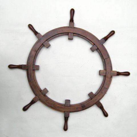 Ship Wheel Frame