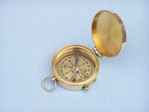 Scout's Brass Compass 1.75