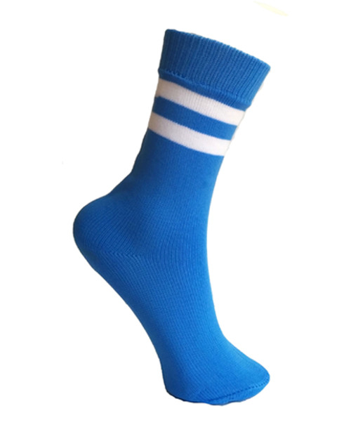 Round Striped School Socks
