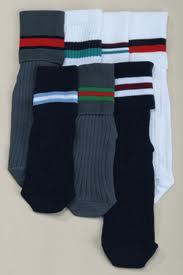 Colour Stripes School Socks