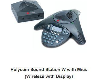 Polycom Sound Station W with Mics