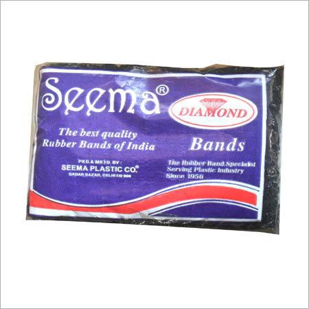 Black Rubber Bands