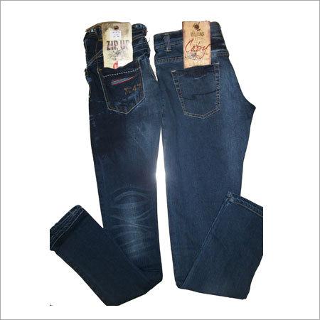 Wrinkle Denim Jeans