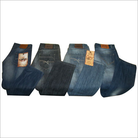 Monkey Wash Denim Jeans