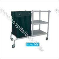 Linen change Trolley with Canvas bag