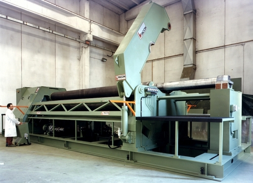 Four Roll Plate Bending Machine