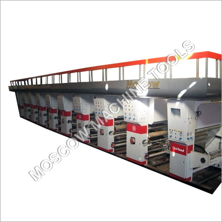 8 Colours Rotogravure Printing Machine