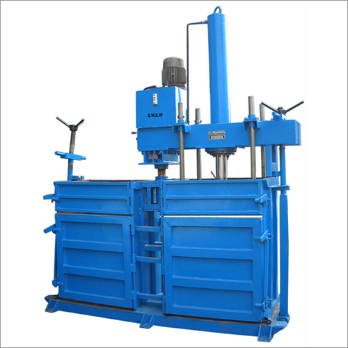 Hydraulic Twin Container Baling Press