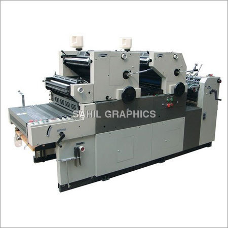 Offset Machine with Online Numbering & Perforation