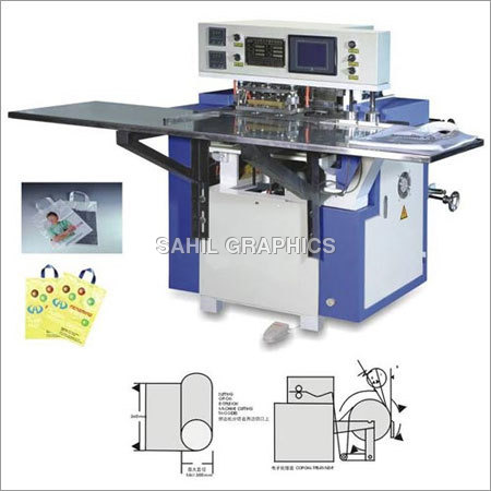 Soft Loop Handle Ultrasonic Welding Machine