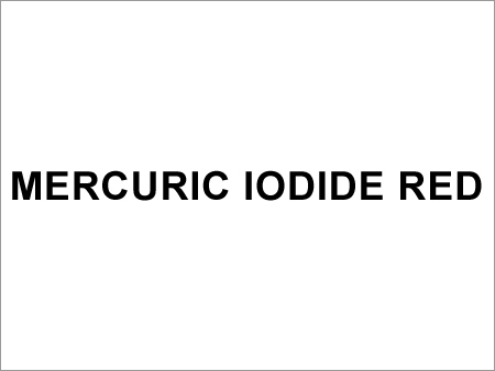 Mercuric Iodide Red