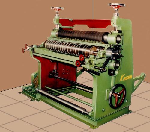 Vertical Type Paper Corrugating Box Machine India
