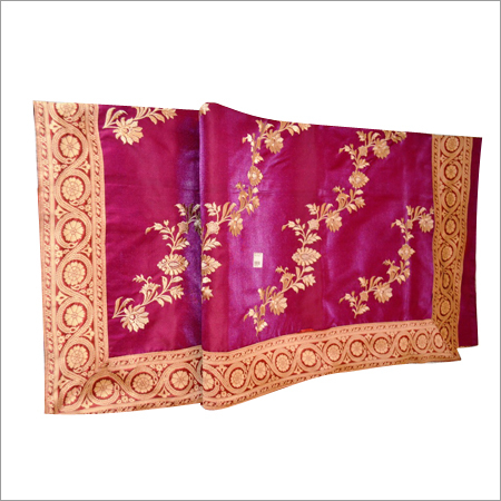 Silk Saree with Hand Work
