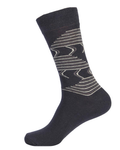 Cotton Spandex Designer Socks