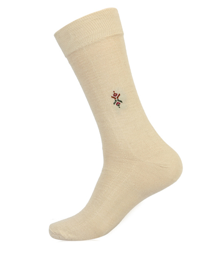 Centered Motif Refreshing Shades Imperial Socks