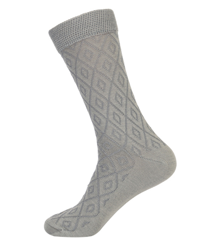 Engraved Design Elegant Socks