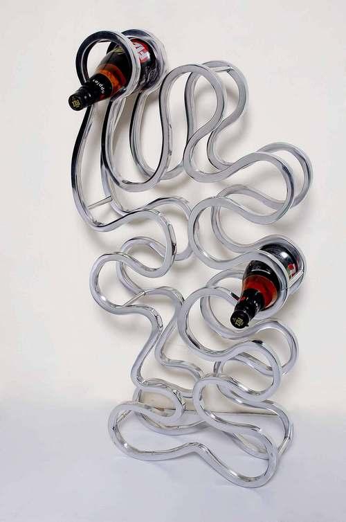 Aluminium Wine Bottle Stand