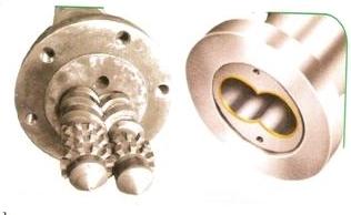 Conical Screw Barrel