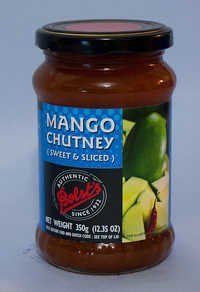Sweet Sliced Mango Chutney