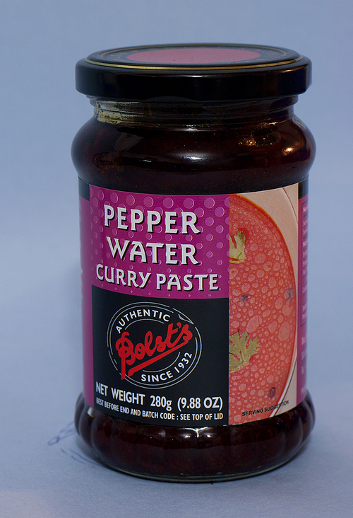 Pepper Water Curry Paste