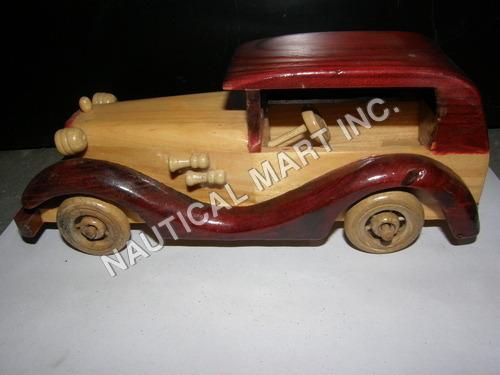 VINTAGE WOODEN STYLE CAR