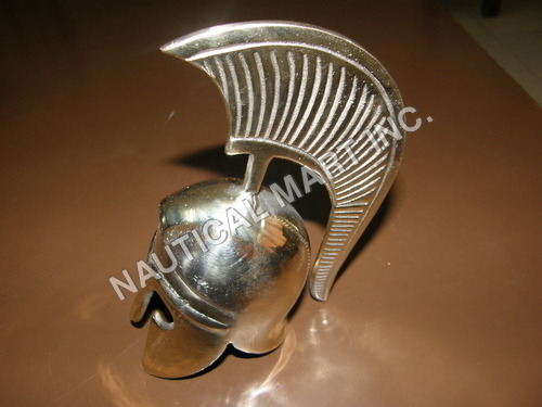 MEDIEVAL ANIQUE BRASS MINI VIKING HELMET