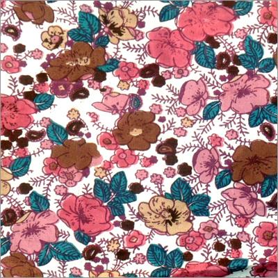Floral Printed Poplin Fabric