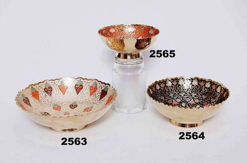 Antique Brass Bowls
