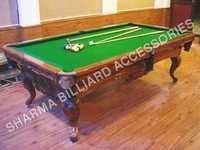 Pool Table in Teak woods