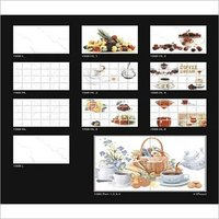 25x37.5 Digital Kitchen Wall Tiles