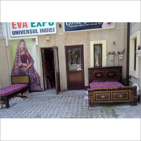 Furniture Displayed In The Compound