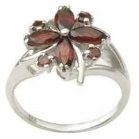 Flower shaped Silver Rings