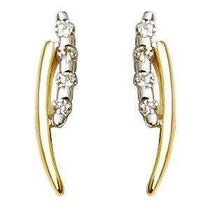 Designer Gold Earrings Online