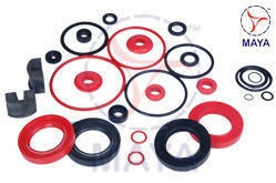 Red and Black Industrial Oil Seal