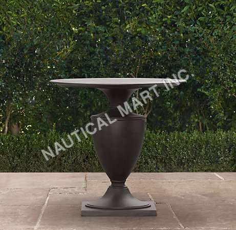VINTAGE KLISMOS ROUND SIDE TABLE
